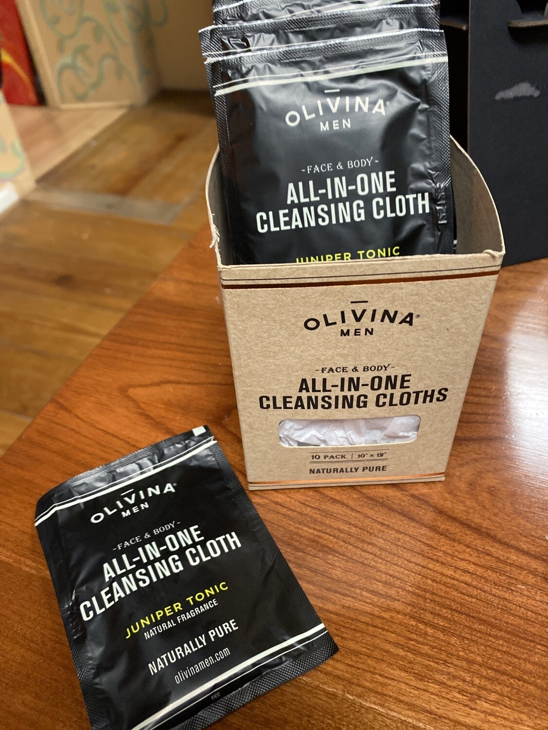 Olivina All-in-one Cleansing Cloths Individual