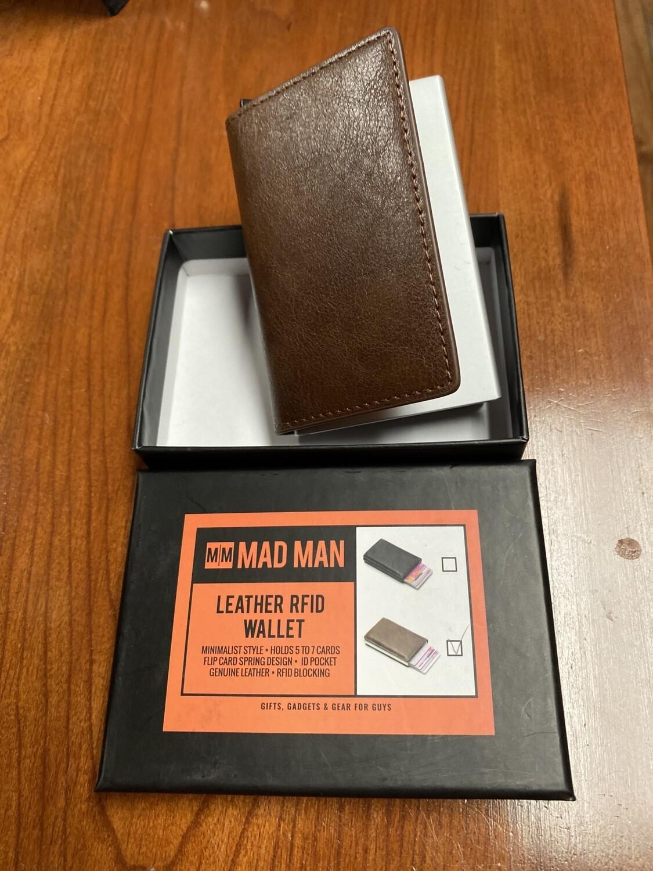 Mad Man Leather RFID Wallet