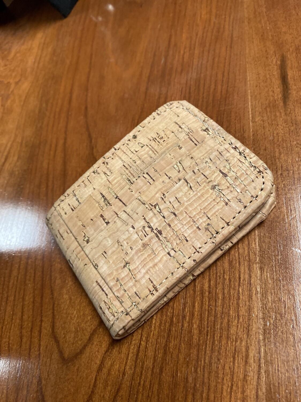 Men's Recycled Cork Bifold Wallet
