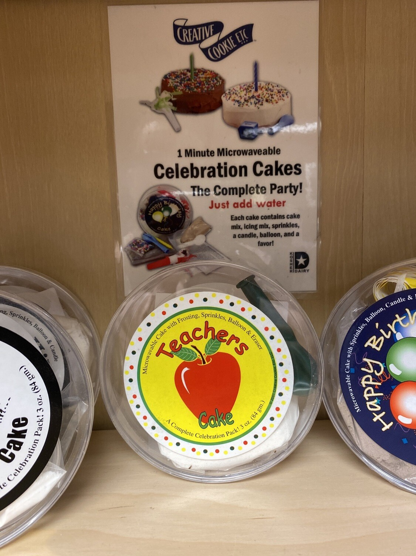 Celebration 1 Minute Cake Teacher