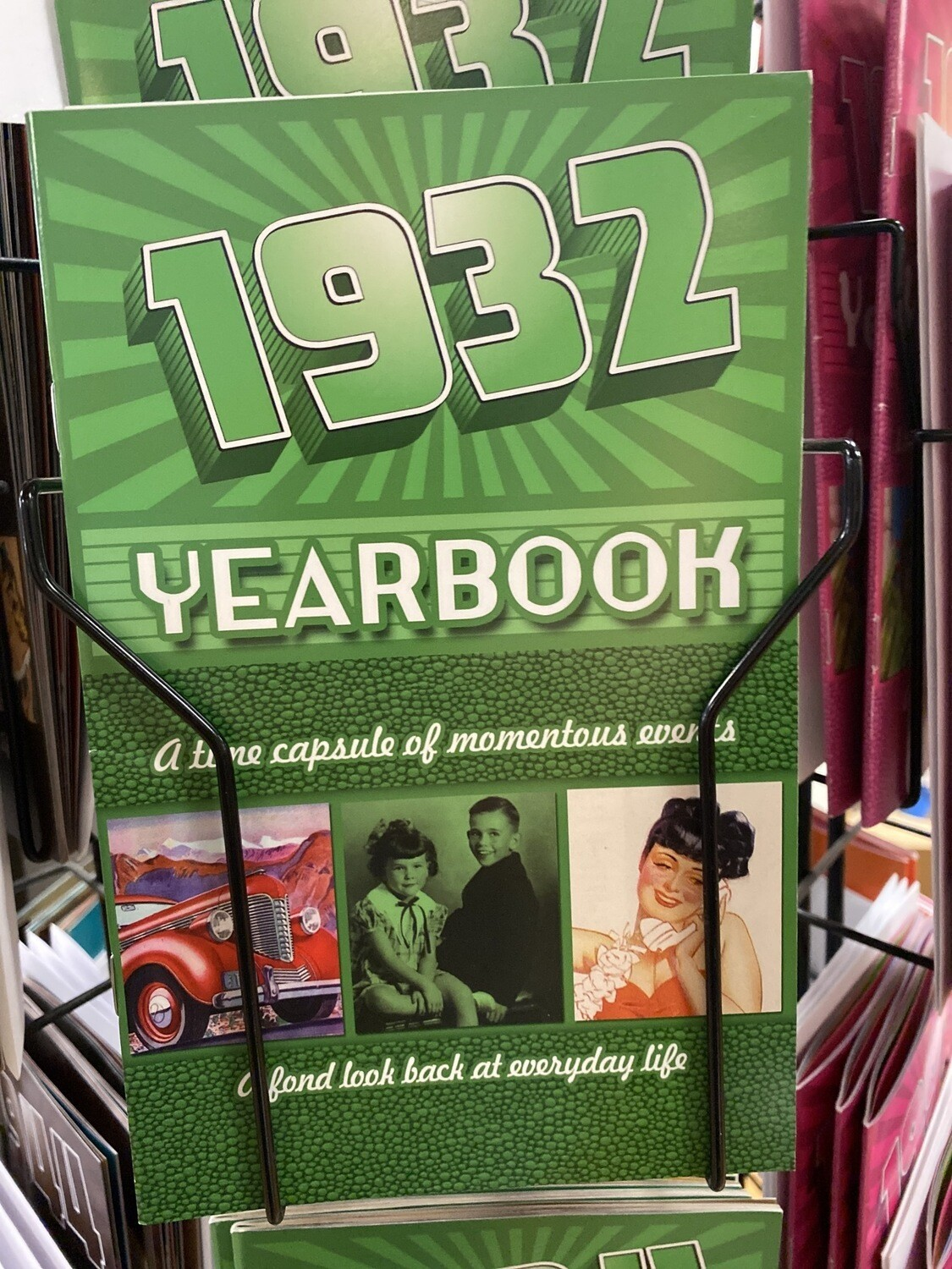 1932 Yearbook Kardlet Nostalgic News, Curious Trivia, Authentic Images 24 Pages.