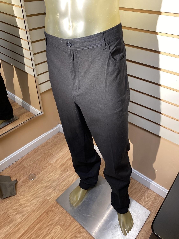 Major Deal! Men's 97% Cotton 3% Spandex Pant Black. Select Sizes. Machine Wash.