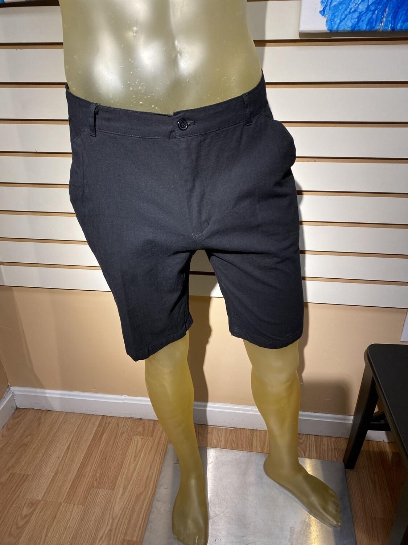 Major Deal! Men's 97% Cotton 3% Spandex Short Black Limited Sizing Machine Wash