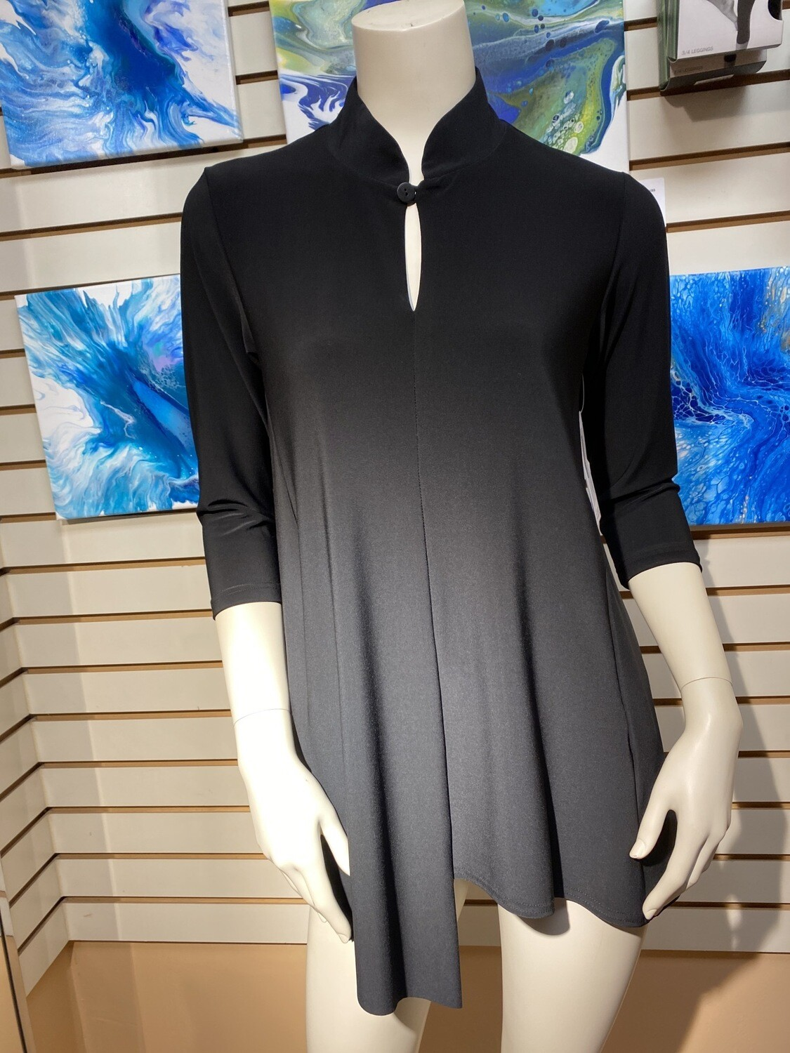 Major Deal! Sympli Double Over Top. Only One. Size 6 Black.