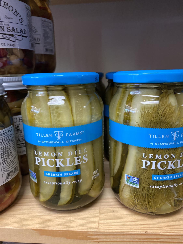Tillen Farms Lemon Dill Pickles