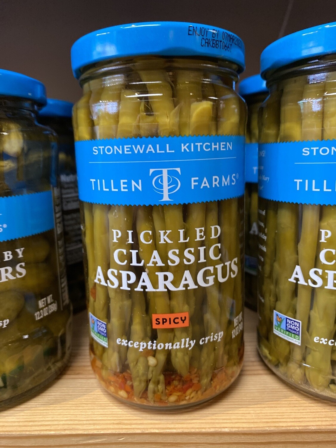 Tillen Farms Pickled Spicy Classic Asparagus