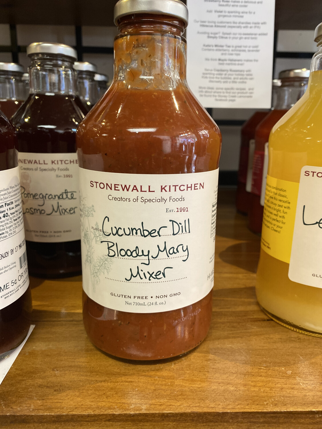 Cucumber Dill Bloody Mary Mixer 24oz