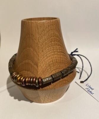 Men's DK Elements Bracelet. Wood Metals. Adjustable