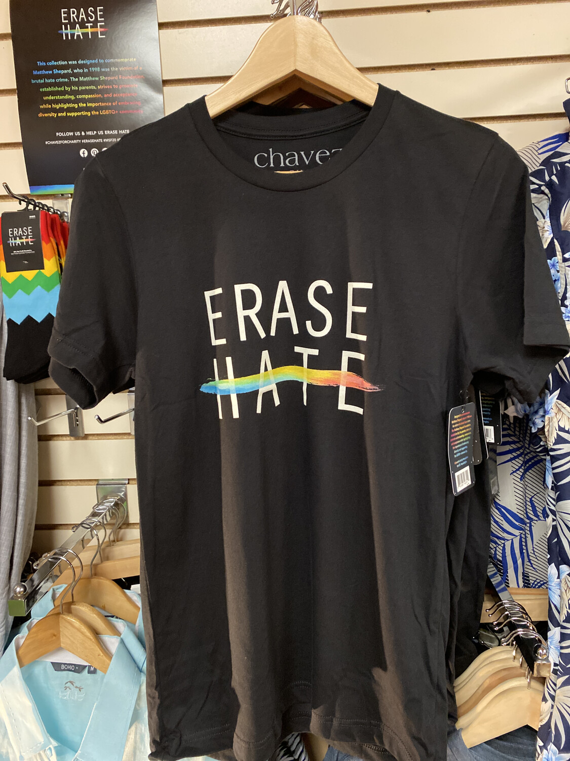 Erase Hate Tee The Mathew Shepard Foundation Xlarge