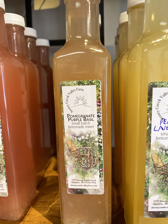 Pomegranate Purple Basil Lemonade Mixer