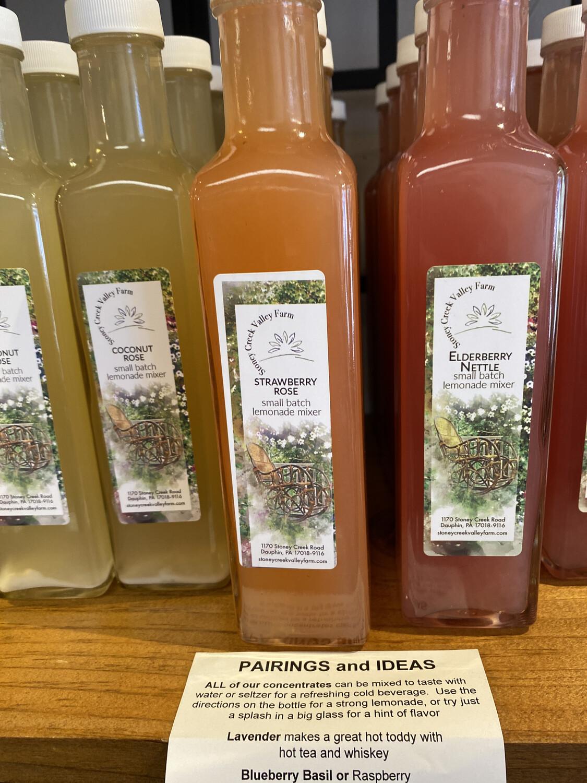 Strawberry Rose Lemonade Mixer