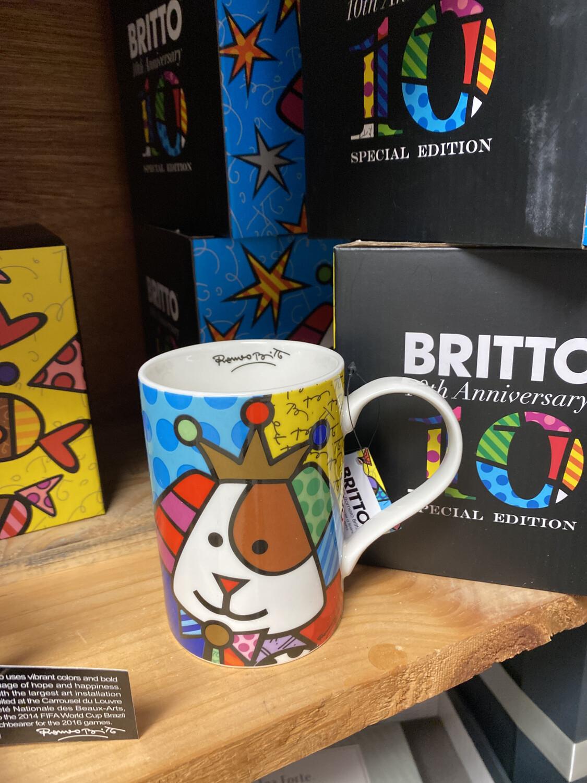 Britto Anniversary Mug Dog