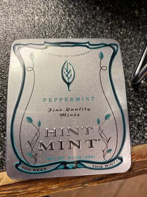 Hint Mint Peppermint