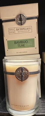 Archipelago Candle Bamboo Teak