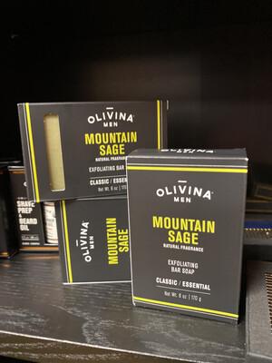 Olivina Mountain Sage Soap