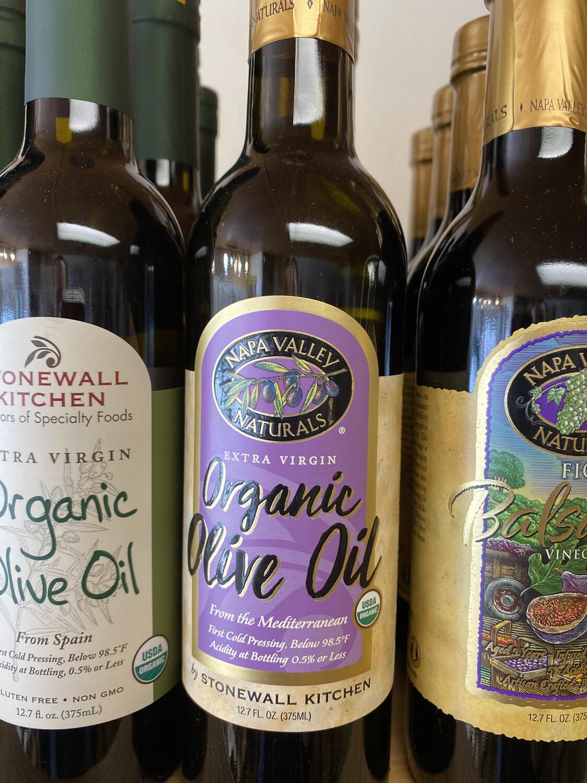 Organic Extra Virgin Olive Oil Napa Valley
