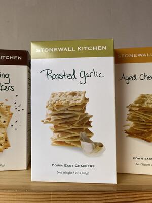 Stonewall Kitchen Roasted Garlic Crackers