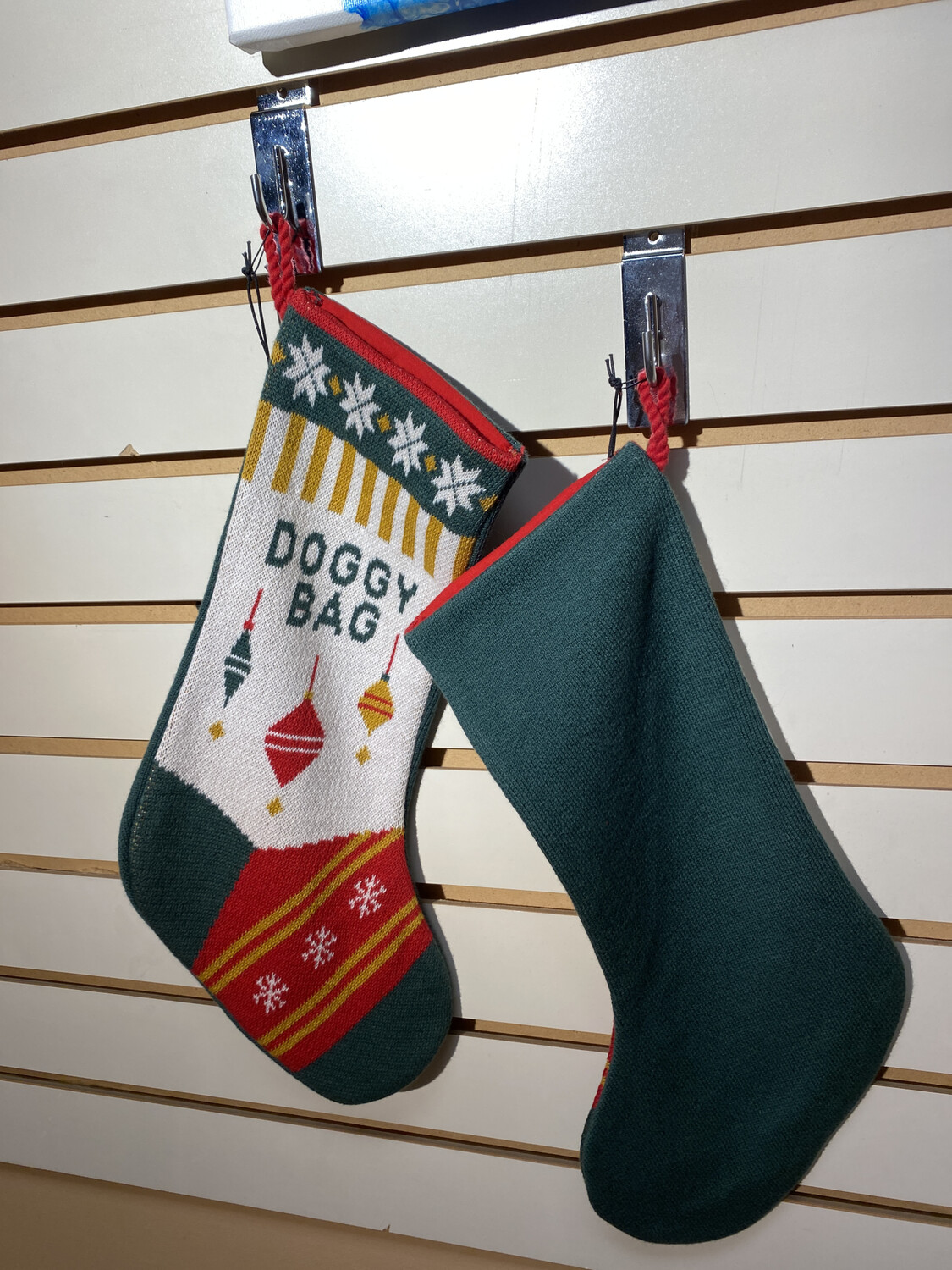 Major Deal Knit Doggy Stocking Doggie Bag