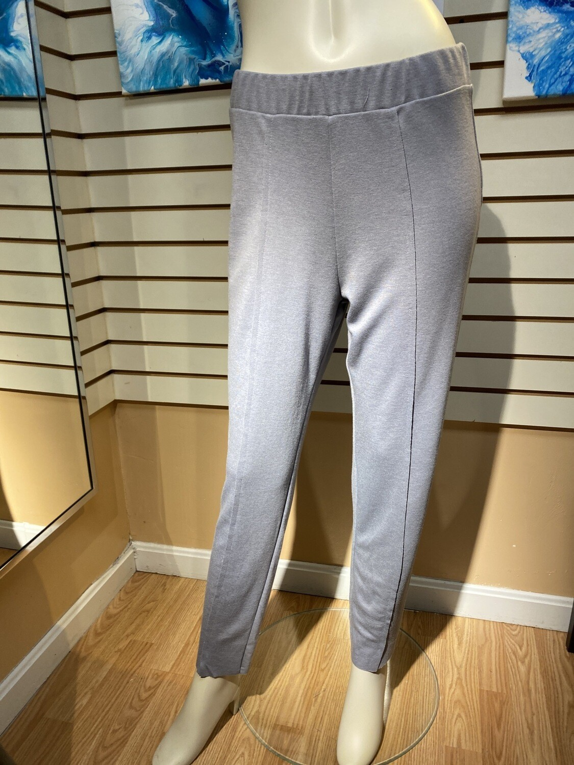 Major Deal Luukaa Knit Front Seem Pant. Gray. Only 1 Size 3, / Like 6,8