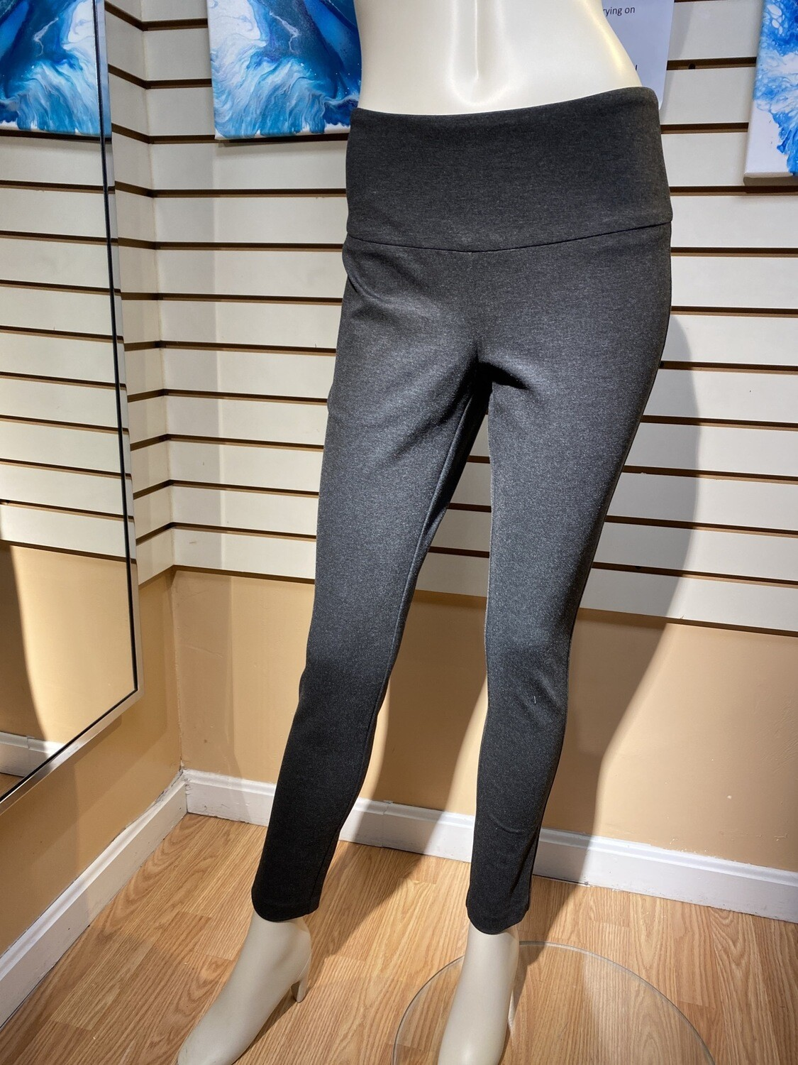Major Deal Up Luxury Pant. Looks Like A Pant, But The Comfort Of A Legging Dark Gray. Only 1 In Size 6