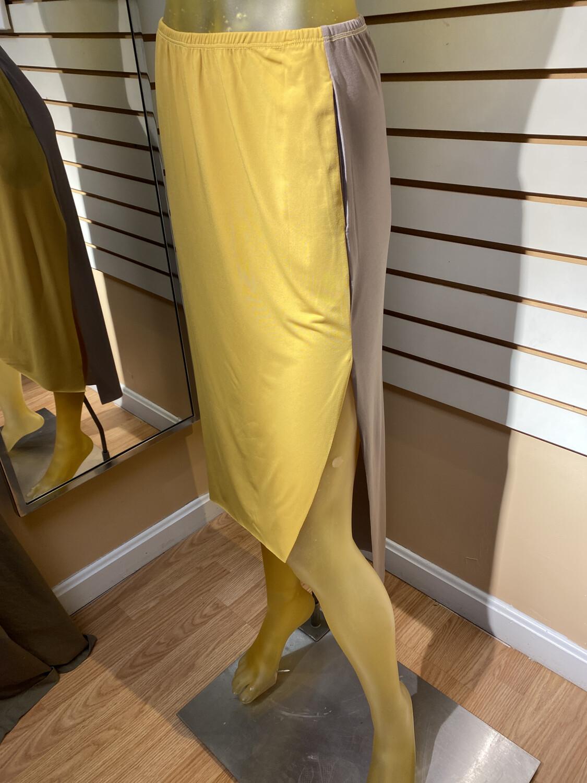 Artimino Skirt Mustard/porcini