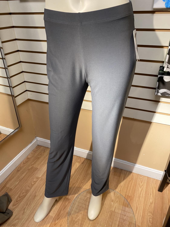 Clara Knit Straight Leg Pant Charcoal