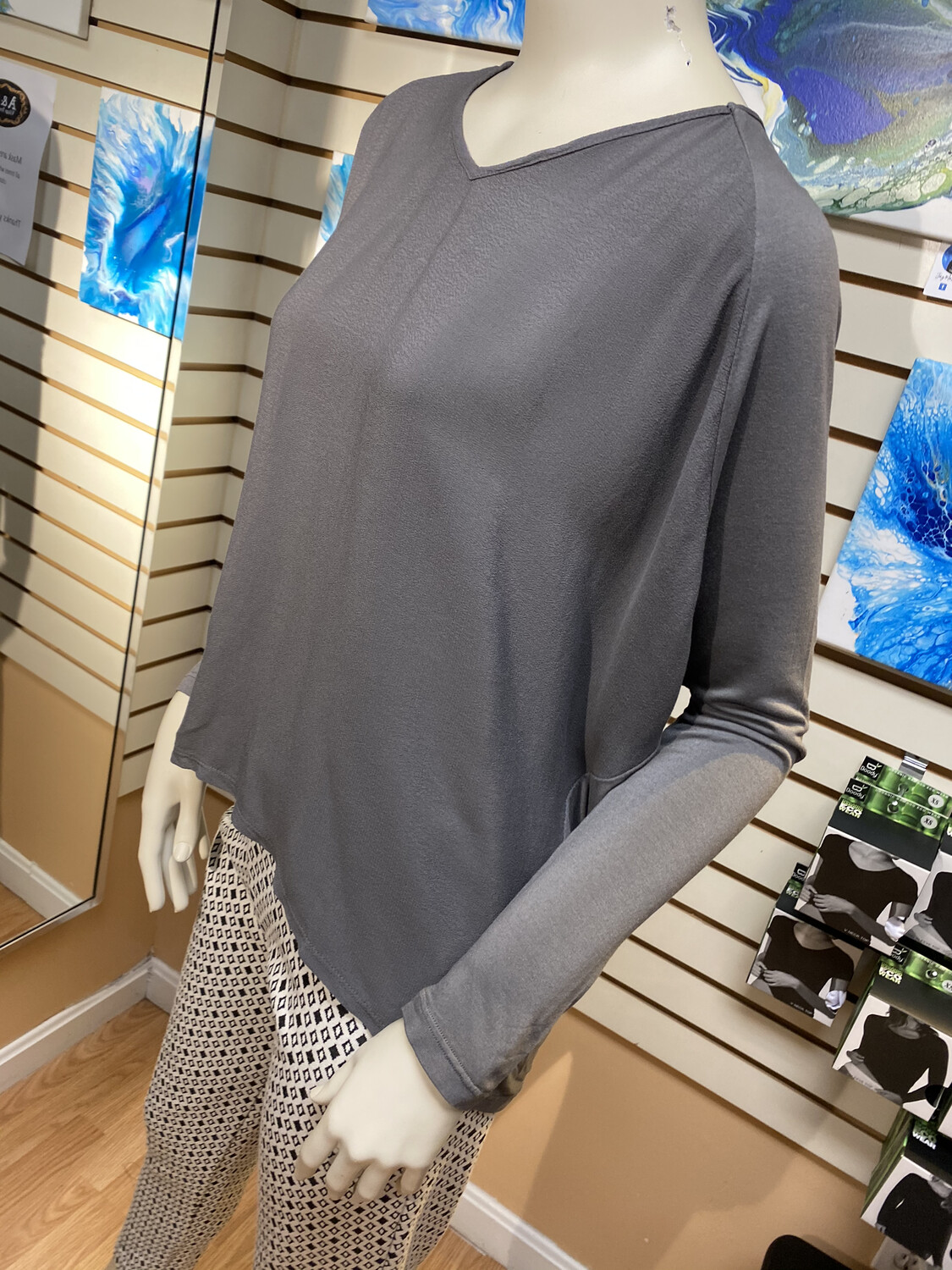 Made In Italy Knit Back Top M