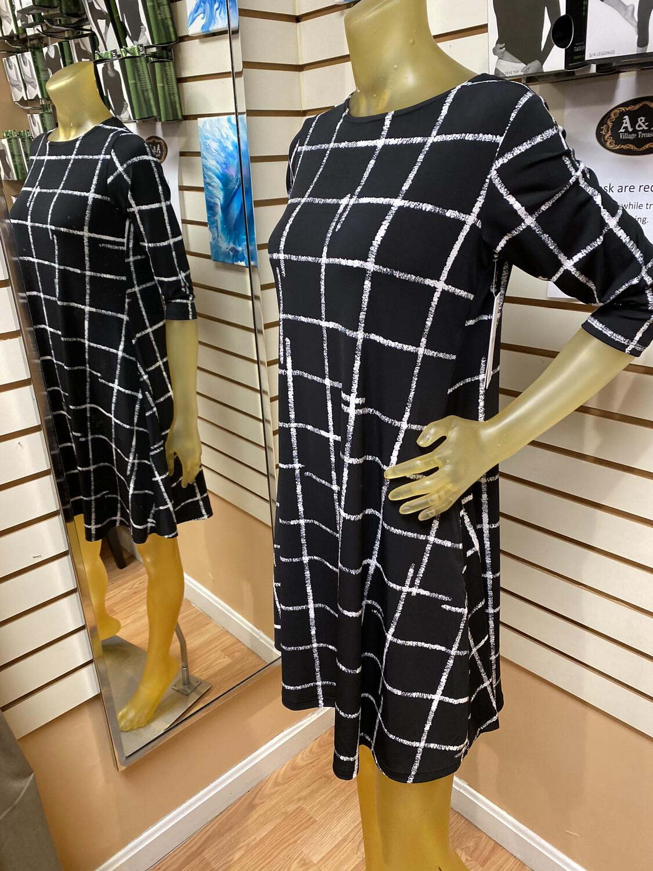 Sympli Etch Trapeeze Dress 6