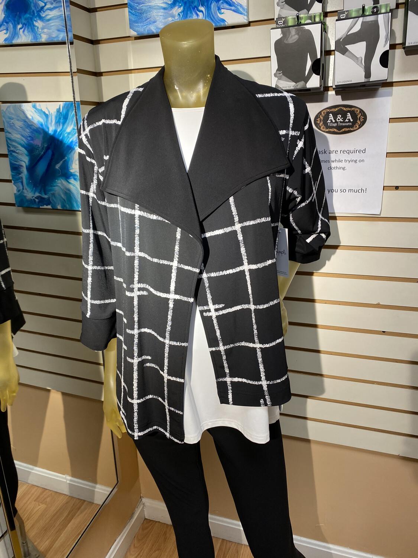Sympli Etch Reversible Jacket Fall 2020 Size 6