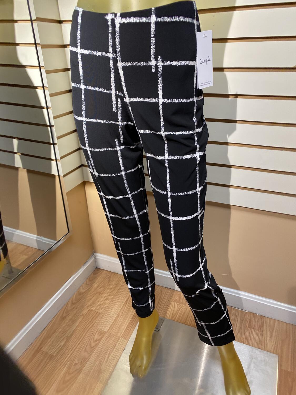 Sympli Etch Narrow Pant Midi Pattern Size 6