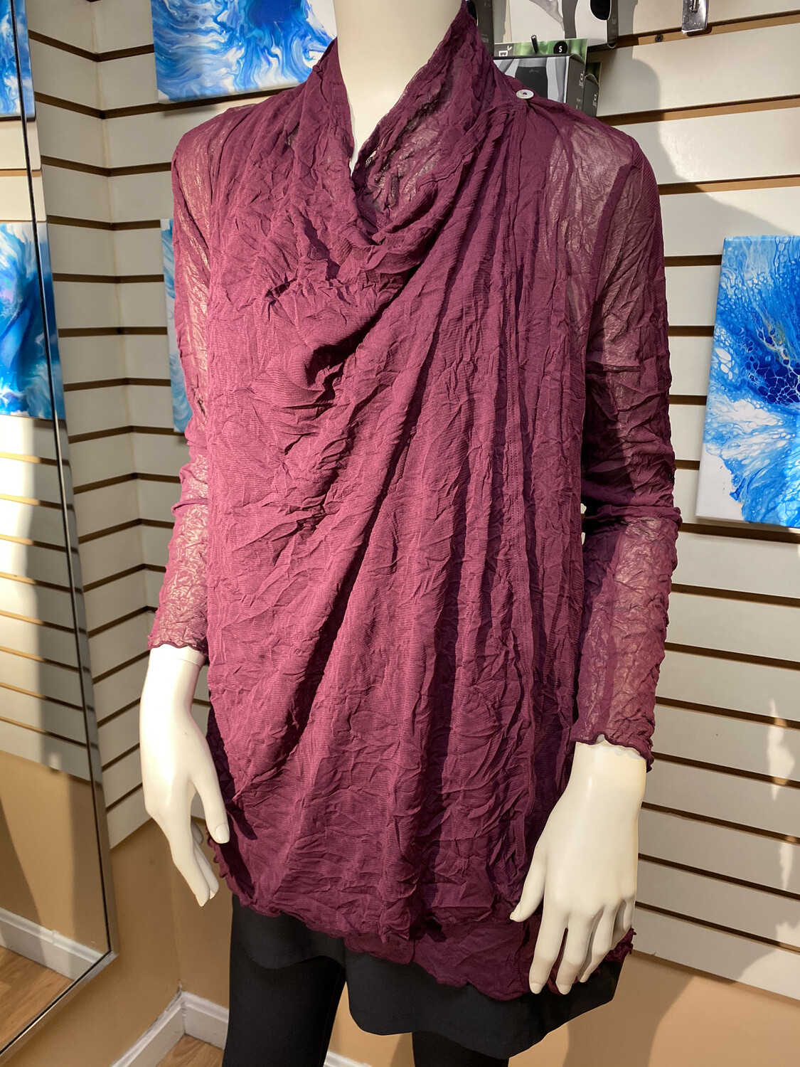 LIV Mia Cardigan Mulberry Only 1 XS