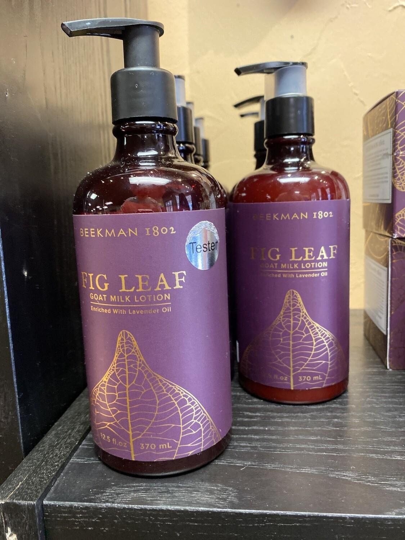 Beekman 1802 Fig  Leaf Goat Milk Lotion Pump 12.5 oz