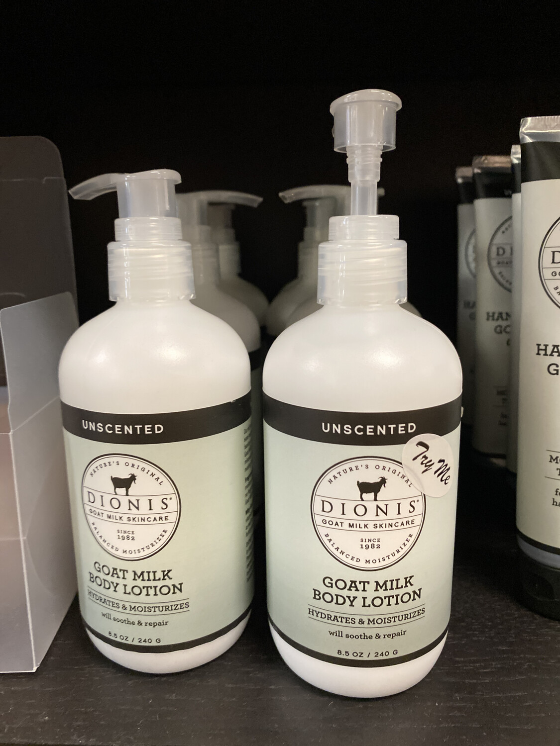 Unscented Goat Milk Body Lotion