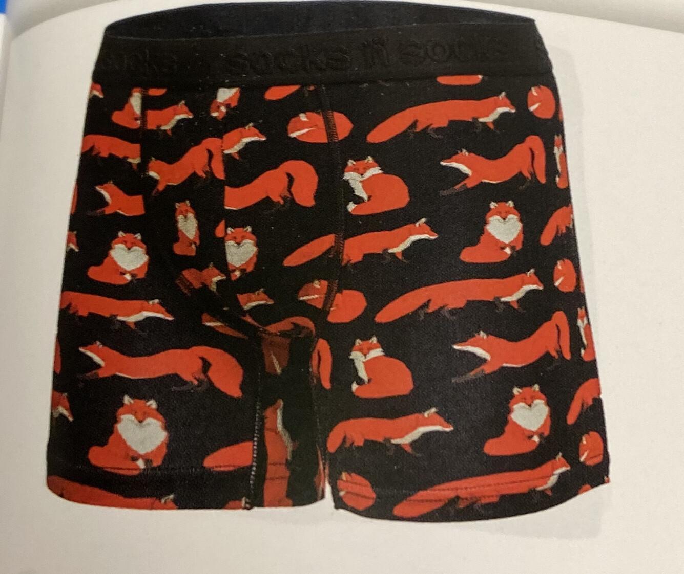Men's Sneaky Fox  Boxers