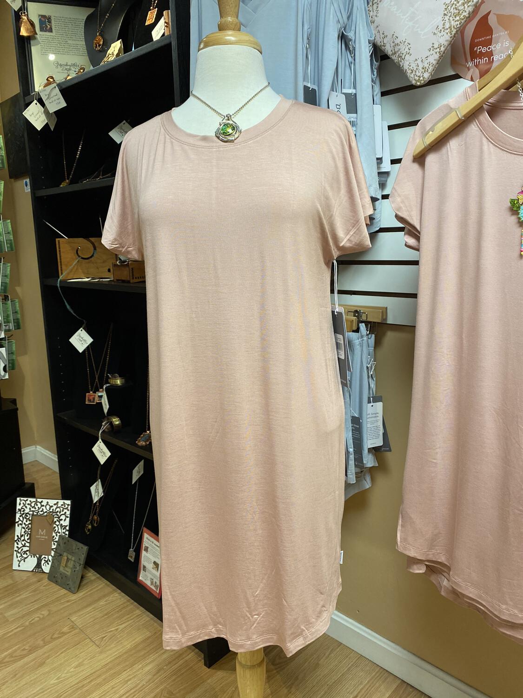 Nightdress Pink L