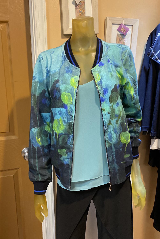 Dolcezza Fantaisie Florale Jersey ZIP Jacket XL