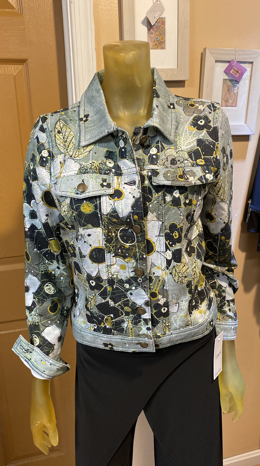 Dolcezza I Am Taking You Home Tonight Button Jacket XS