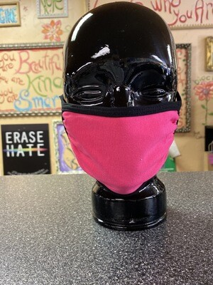 Inside Out 3 Layer Mask Fuchsia