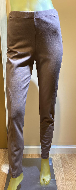 Major Deal Clara SunWoo Ponte Legging Pant Tan 1X/18