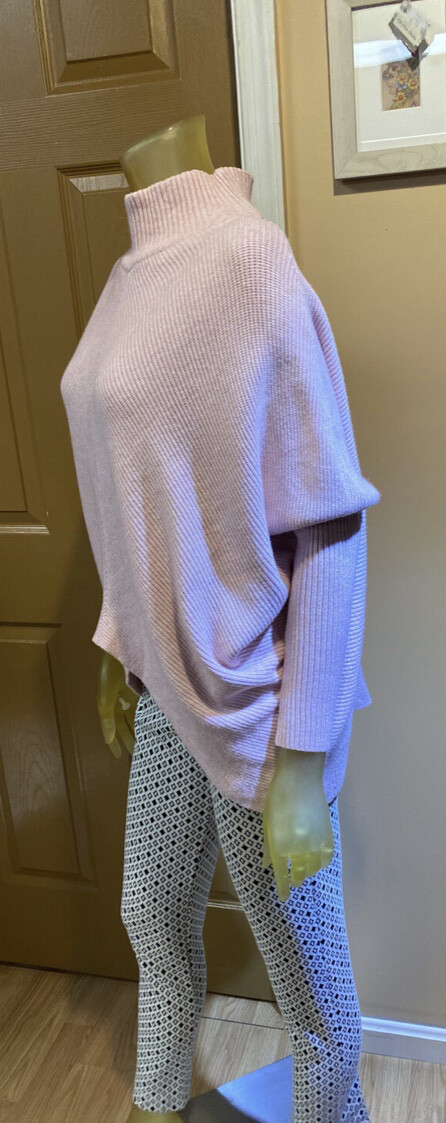 M Made In Italy Knit Sweater Blush L