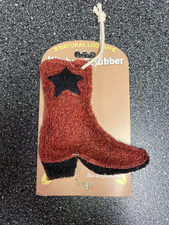 Loofah Cowboy Boot