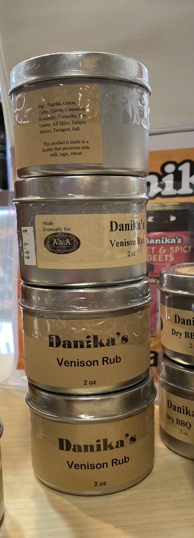 Danika Venison Rub