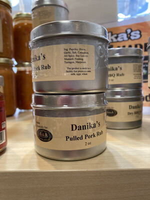 Danika Pulled Pork Rub