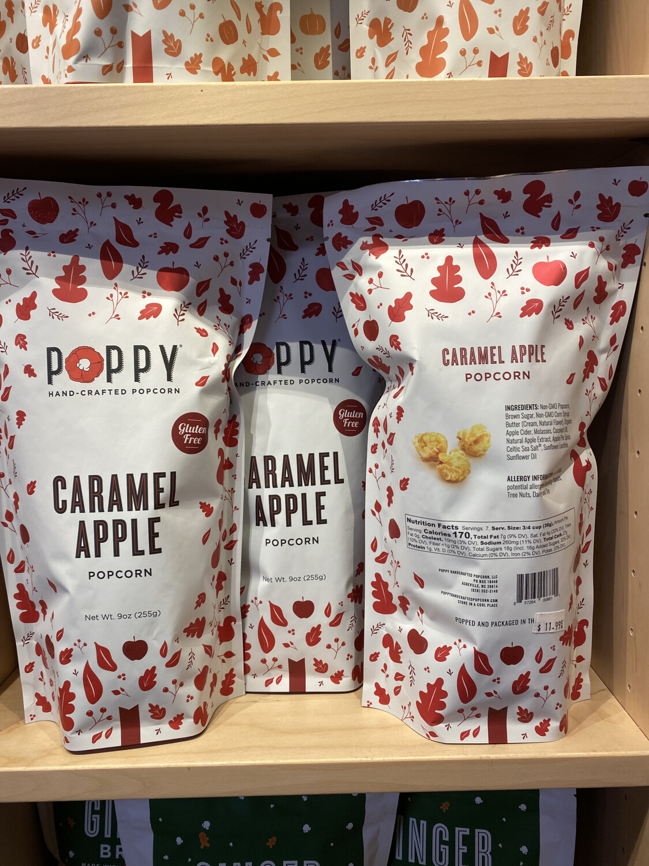 Poppy Caramel Apple Popcorn
