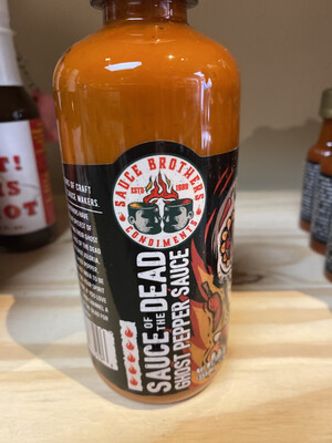 Sauce Of The Dead  Ghost Pepper