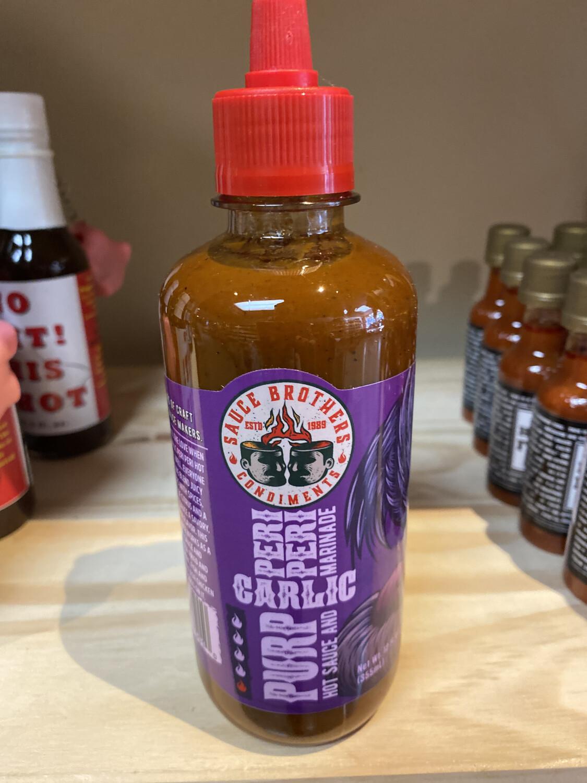 Sauce Brothers Garlic Hot Sauce