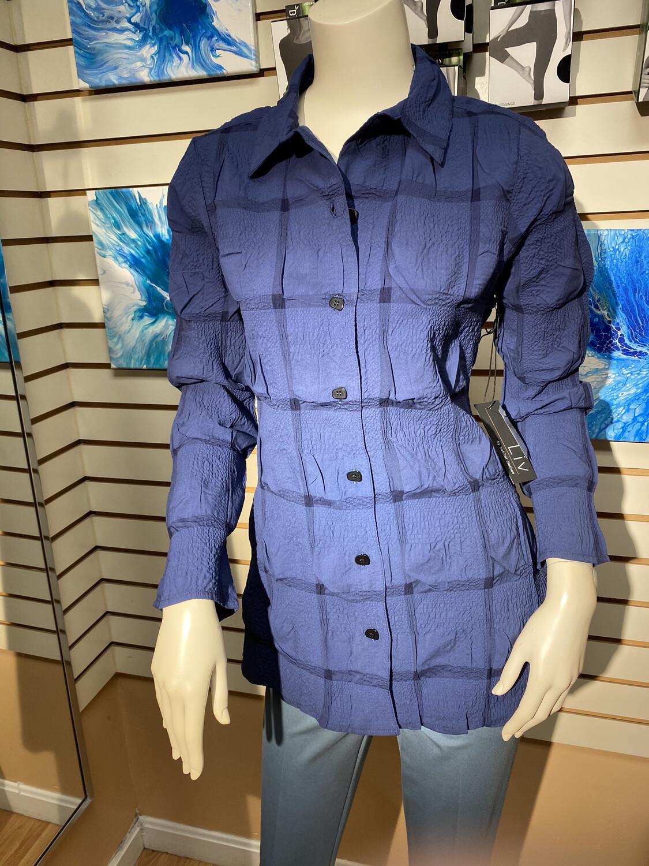 LIV Savannah Shirt Indigo M