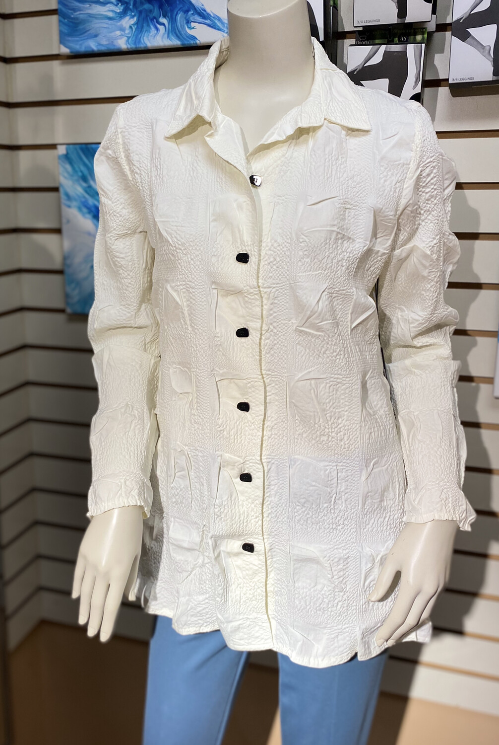 LIV Savannah Shirt White L