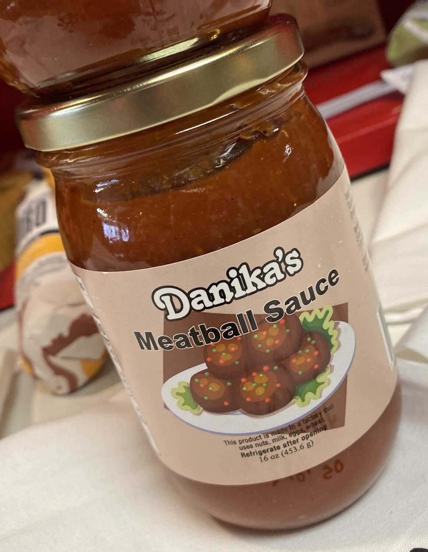 Danika Meatball Sauce