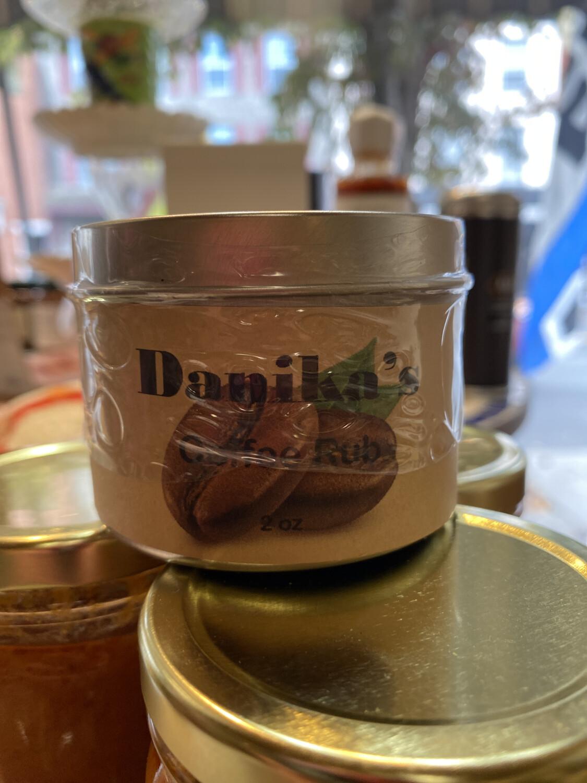 Danika Coffee Rub